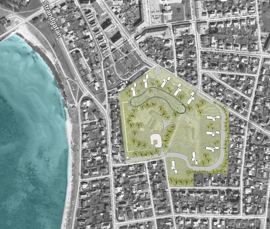 Ny stadspark i Höganäs